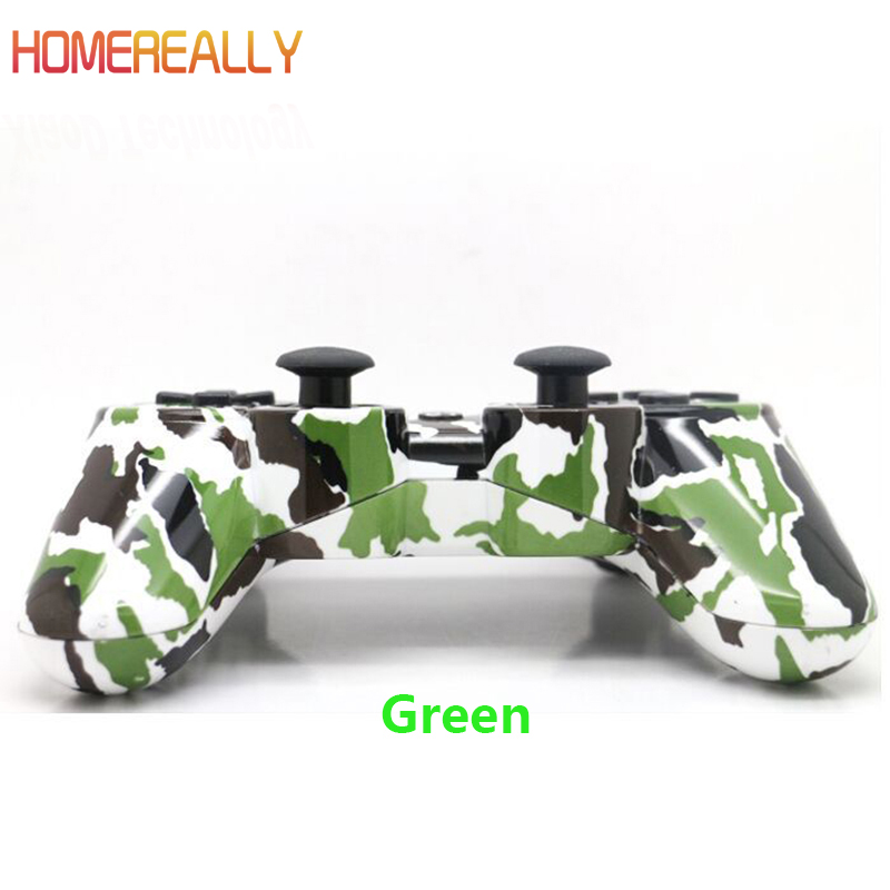 HOMEREALLY Gamepads For Sony PS3 Controller Wireless Bluetooth Dual Vibration Gamepad For Sony Playstation3 Game Joystick