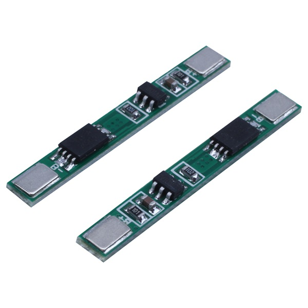 10 Pcs 1S 3.7V 4A Li-ion BMS PCM 18650 Battery Protection Board PCB For 18650 Lithium Ion Li Battery Double MOS Bms