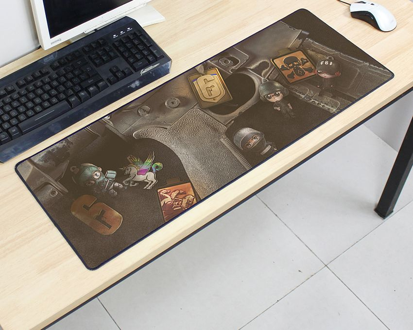 Rainbow Six Siege mousepad 800x300x2mm pad to mouse computer mouse pad best seller gaming padmouse gamer to keyboard mouse mats 3