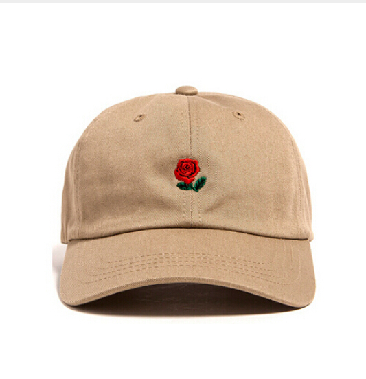 Brand cap Rose embroidery hat kanye West bear Cap snapback dad cap designer  hats I Feel Like pablo caps Wolves casquette-in Baseball Caps from Apparel  ... 45602a4214aa