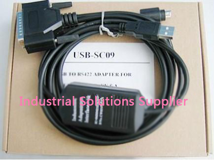 USB-SC09 PLC Programming Cable for FX / A Series DATA CABLE boxed