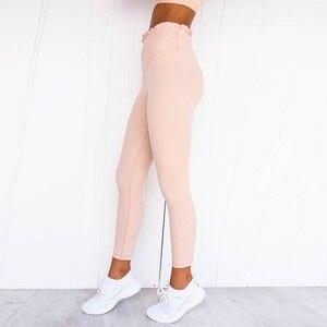 Image 3 - Gọng Nữ Yoga Bộ Tập Thể Hình Cho Người Phụ Nữ Phù Hợp Với Áo 2 Chiếc Áo Thể Thao Gợi Cảm Bộ Đồ Thể Thao Áo Mặc Tập Gym Chạy Bộ Quần Áo Top Quần Legging, ZF222