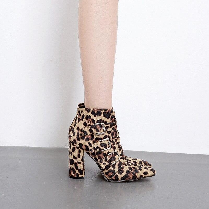 Caviglia Leopardo 1 Stivali Inverno Nero Laides Donne Piattaforma Delle Dropshipping 2 Scarpe Del Della Alta Tacchi Di Partito Nozze 5w8TwqSr4