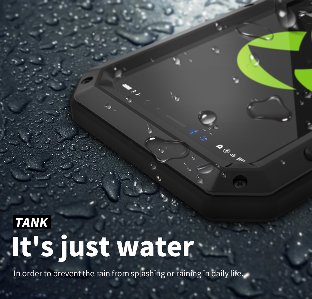 For iPhone X Tactical Waterproof Case (11)