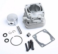 4 bolt 32cc Engine cylinder kit for Rovan cy Zenoah engine for 1/5 hpi km rv baja 5b 5t 5sc losi rc car parts