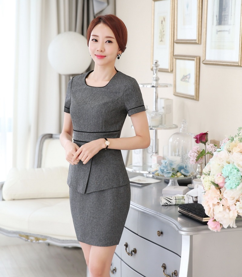 Aliexpresscom Buy Summer Fashion Women Business Suits With Two