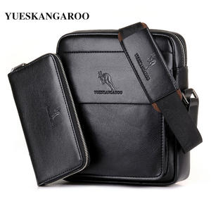 YUESKANGAROO Leather Shoulder Bag Crossbody Messenger bag 6be60b9c83a