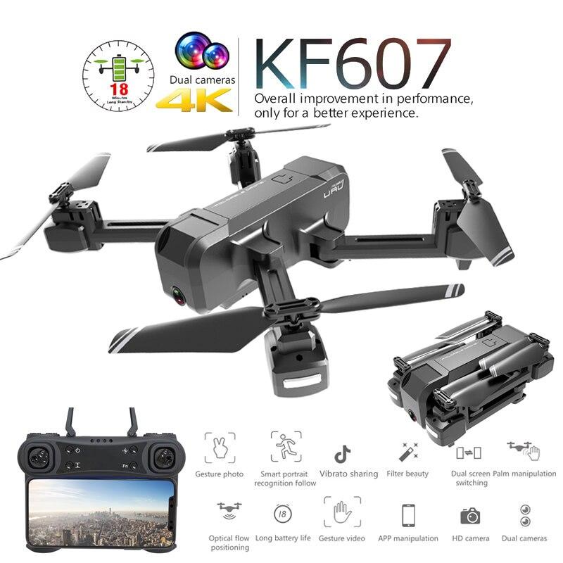 KF607 minidron profesional plegable con cámara Dual 1080P 4K HD WiFi FPV flujo óptico RC Quadcopter helicóptero juguetes VS SG106 Los mejores relojes de gama alta de 2020, reloj despertador con termómetro, reloj de mesa con voz Digital LED, batería de reloj Digital de 13 colores/alimentación USB