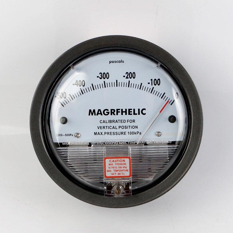 TE2000 -500pa-0pa Micro Differential Pressure Gauge High 500 to 500pa micro differential pressure gauge high te2000