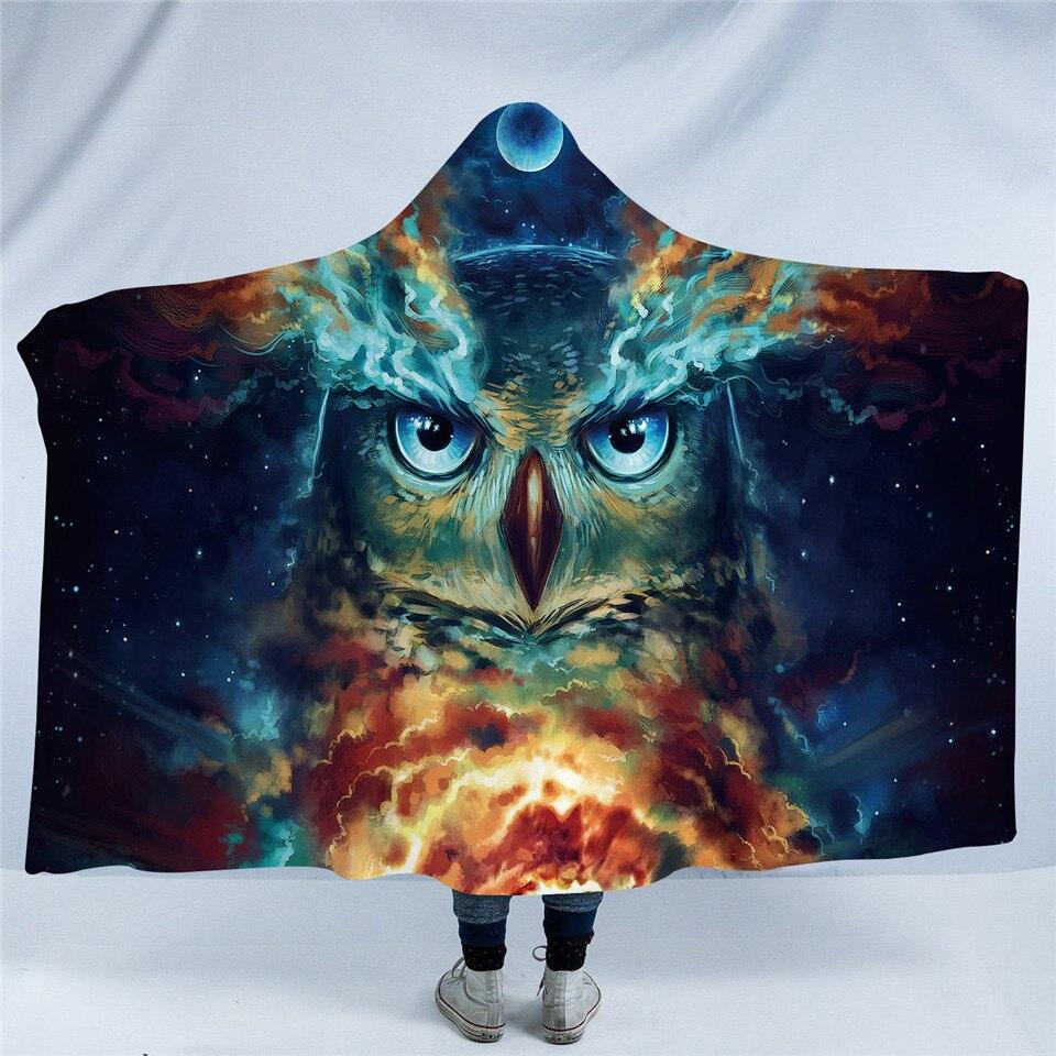 Nebowla 3D Hooded Blanket