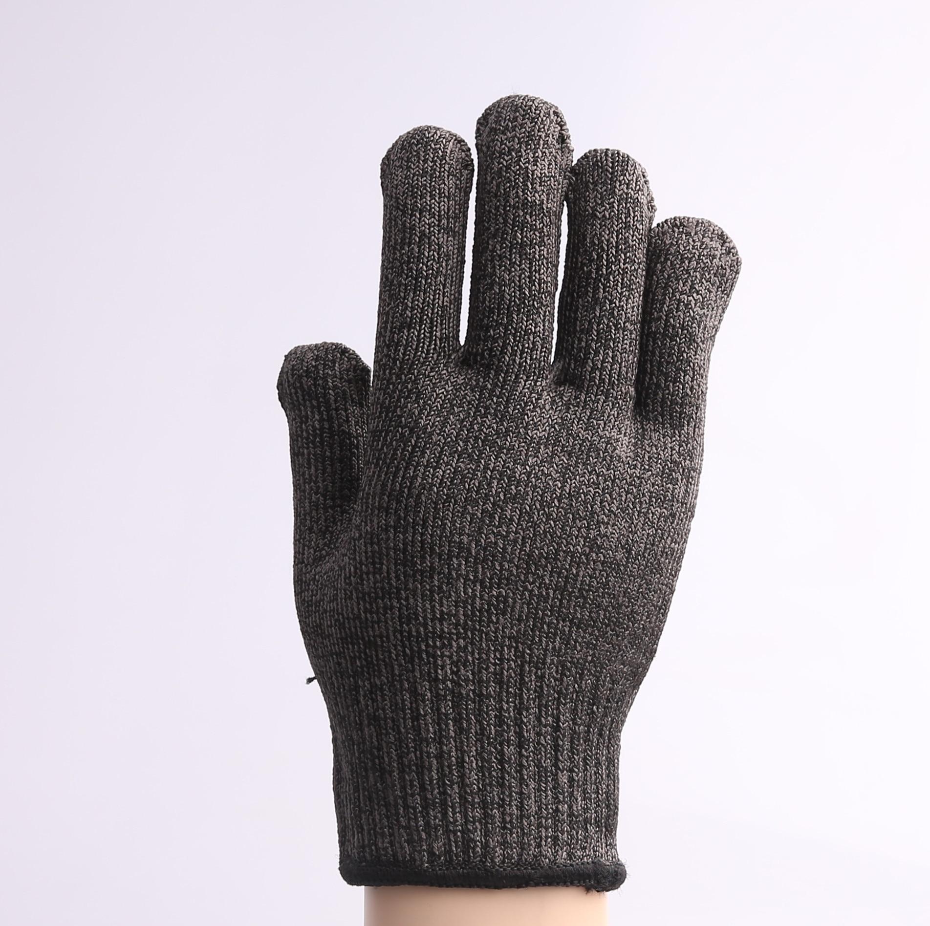 ФОТО Level 5 cut-resistant steel wire cut-resistant gloves self-defense tool cutting edge equipment anti -scratch glass