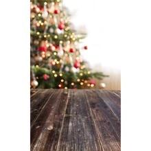 2X3m free shipping Thin vinyl Photography Studio Senior Vinyl Background Digital print Christmas tree Backdrops ST-315