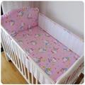Förderung! 5 stücke mesh bedding set  multifunktionale baby sicher schlafen kinderbett stoßstangen set babybett bettwäsche (4 stoßfänger + blatt)|bumper set|baby bed bumper setbedding set -