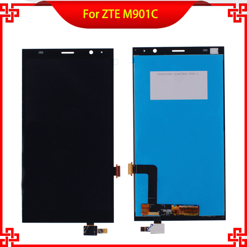 6 LCD Display Touch Screen Digitizer Assembly Replacement For ZTE Grand X Memo II 2 M901C High Quality Mobile Phone LCDs