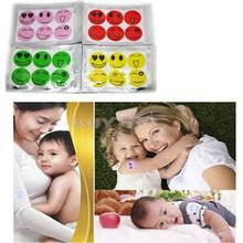 6pcs 1 Set Mosquito Repellent Patch Smiling Face Drive Midge Mosquito Killer Cartoon Anti Mosquito Repeller Sticker