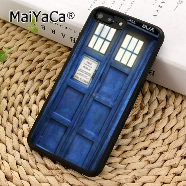 Cellphones & Telecommunications Aggressive Maiyaca Doctor Who Tardis Phone Case Cover For Iphone 4 5 5s Se 6 6s 7 8 X Xr Xs Max Samsung Galaxy S6 S7 Edge S8 S9 Plus To Have Both The Quality Of Tenacity And Hardness