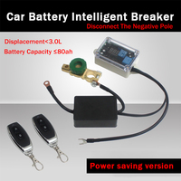 Auto 12v Battery Automatic Smart Circuit Breaker Protector Remote Control Switch Battery Manager Isolation Negative Power Saving