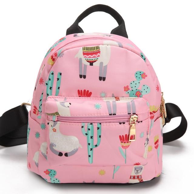 bc0649db4a64 pink small mini backpack female women bags unicorn backpacks for girls  teenagers kids women 2018 mini