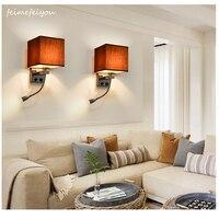 Feimefeiyou Indoor Wall Lamp E27 Modern Led Wall Light 1W Led Chips Wall Mounted Bathroom cabinet lamp