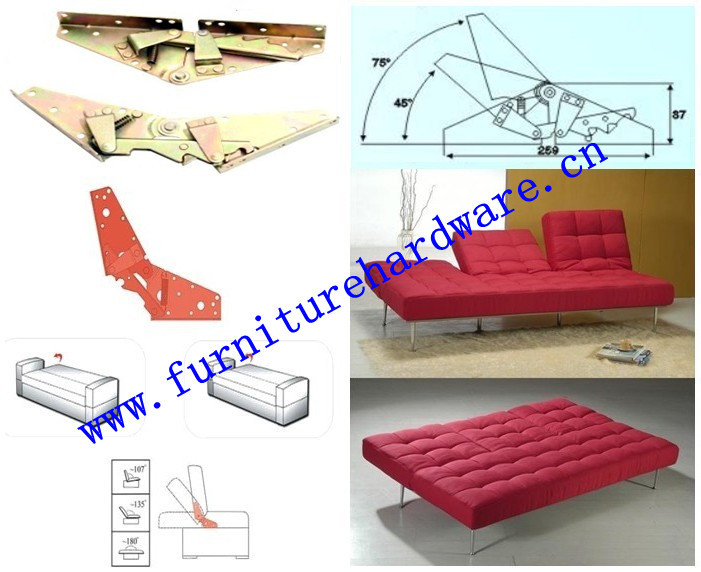Sofa bed mechanism parts  C04