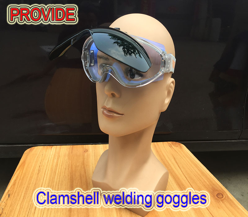 PROVIDE safety goggles Double lenses Anti-glare protection glasses Impact resistance High quality laser glasses anti impact soft head sorbothane mallet high impact absorption