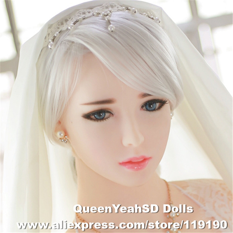 Oral <font><b>Sex</b></font> <font><b>Doll</b></font> Heads Solid Silicone Love Dolsl Head For Men Oral Depth 13cm TPE <font><b>Doll</b></font> Head Fit <font><b>Body</b></font> from 130cm to 170cm image