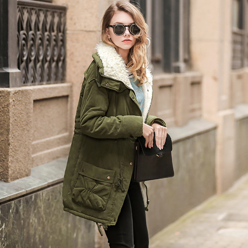 Winter Coat for Pregnant Women Parka Maternity Outwear Pregnant Clothes Military Jacket Women Cotton Clothes Drawstring Snowsuit pregnant women autumn and winter new windbreaker jacket pregnant women loose casual jacket pregnant women long cotton coat