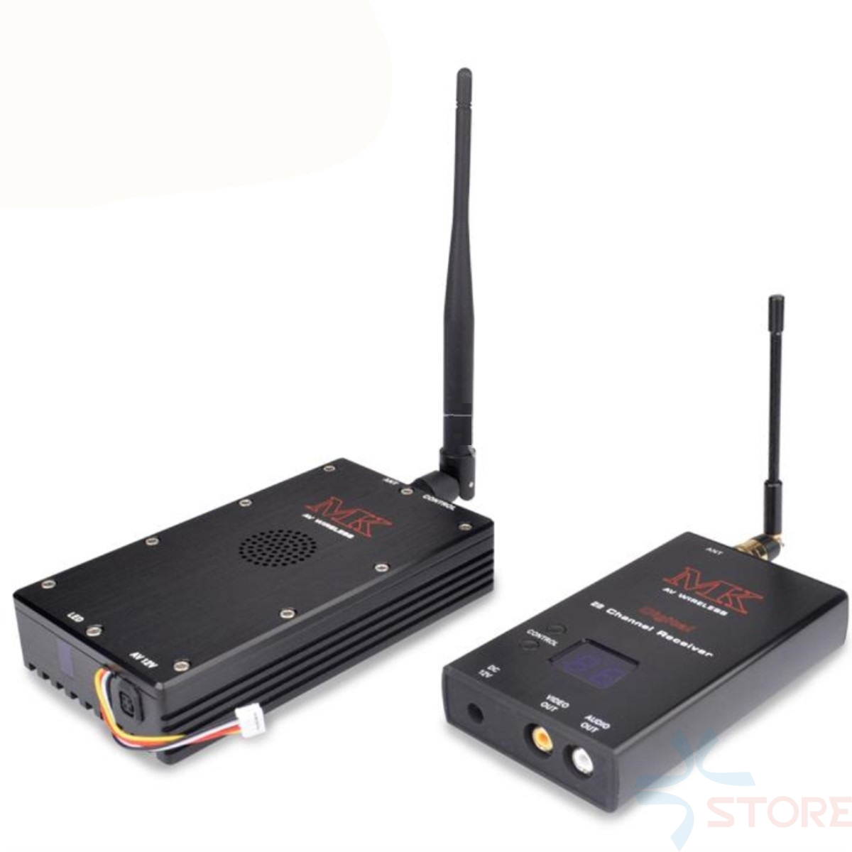 MK brand 10W 15ch 0.9G-1.2G cctv transceiver high-power wireless video transmitter and receiver monitoring transmission equipmen taiwan 1 3ghz 7000mw 7w wireless transceiver 1 3ghz video audio transmitter receiver long range fpv cctv transmitter