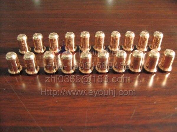 Torch Plasma Nozzle For 70pcs  220480 220478 PMX30 Electrode T30v Machine   Consumables 30A Cutting