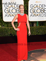 Sexy Red Jennifer Lawrence Celebrity Dresses Without Necklace 2017 73rd Golden Globe Awards Red Mermaid Long Evening Gowns