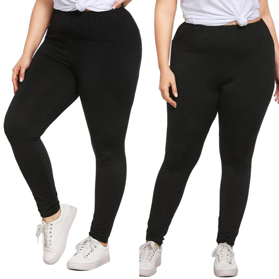 Plus Size Womens Sexy Leggings Trousers Hole Casual Pants Large size ladies leggings pants trousers for women women plus size pa