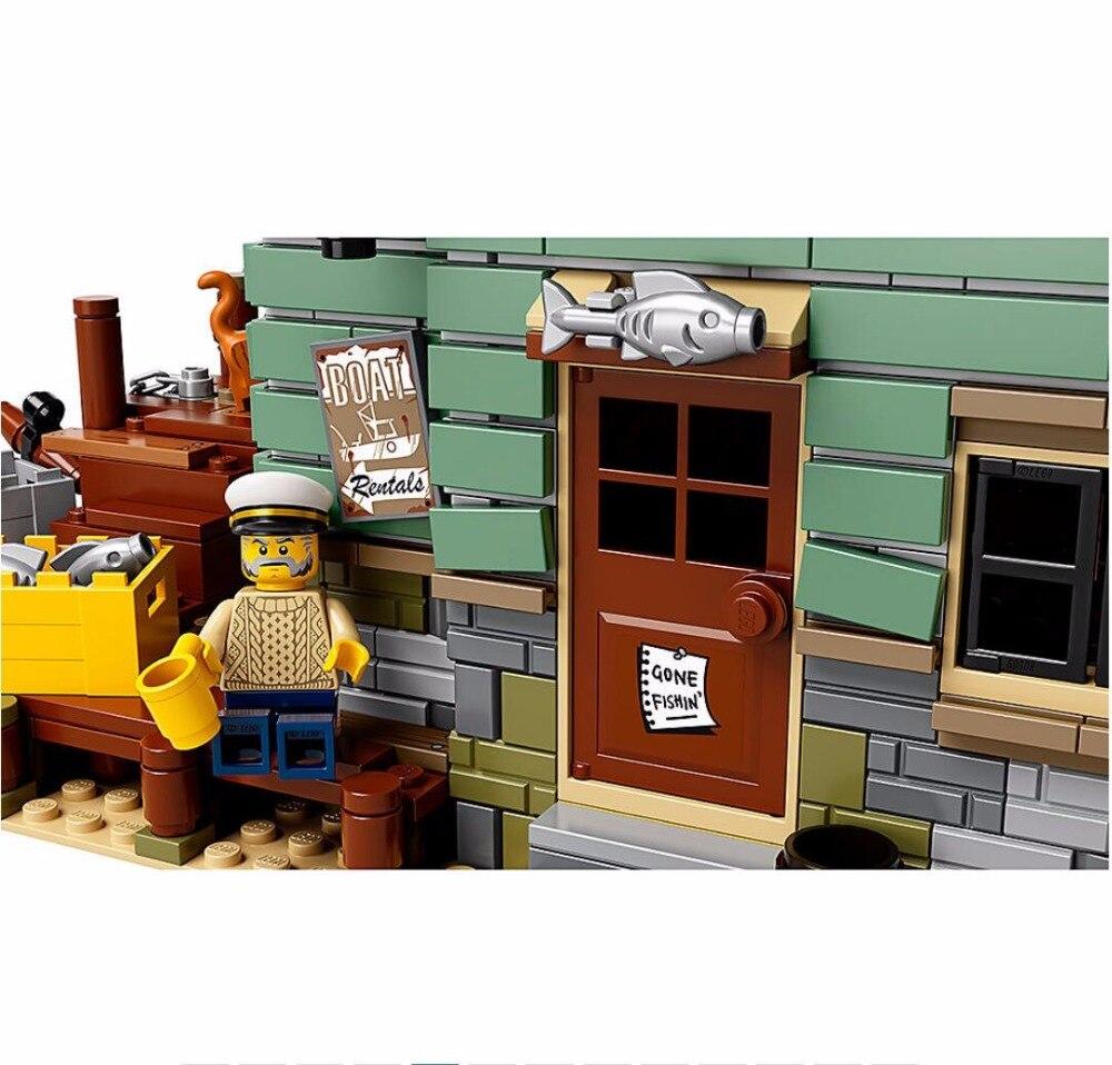 Le Vieux Finissage Magasin 2049 pièces modélisme kits compatible avec lego brique GPM Série Enfants Éducatifs - 4