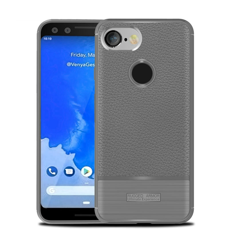 For Google Pixel 3 Cover Google Pixel 3 XL Case Google Pixel3 Premium Original Silicone Leather Coated Protective Soft Shell