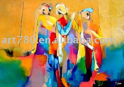 canvas modern oil painting,canvas oil painting,modern art for wholesale on line