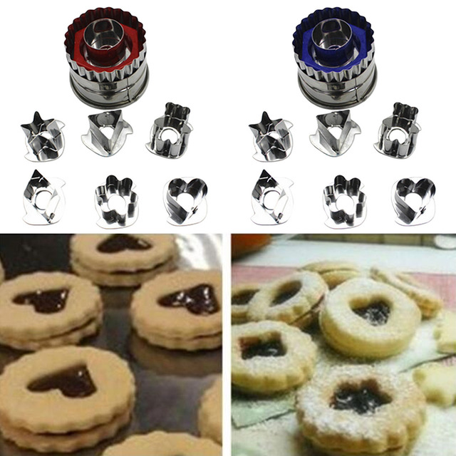 Rvs cake decoratie gereedschappen biscuit snijgereedschap biscuit cutter set gingerbread cake biscuit mold fondant cutter