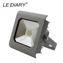 LEDIARY Professional LED Floodlight Smart LED Projector Lamp Waterproof IP65 Landscape Lighting 10W 220V SMD Lawn Lamp Grey Body