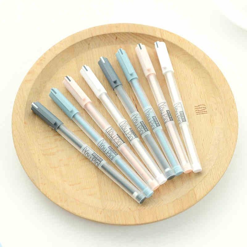 12Pcs/Lot M&G AGPA1704 RollerBall Pen Gel Ink Pen 0.35mm Office  School Stationery Supplies Kawaii Gel Pens