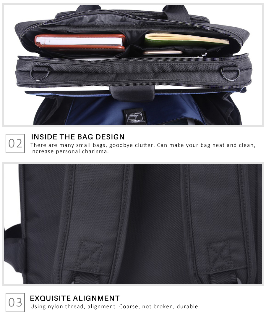 Large Office Portable Briefcase 14
