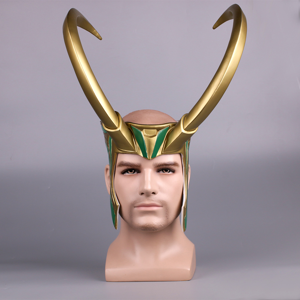 Design; 2017 Movie Thor 3 Ragnarok Hela Pvc Cosplay Masks Black Horns Queen Helmets Women Halloween Props Party Novel In