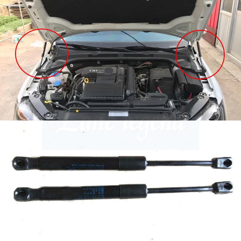 For 2012-2017 Vw Jetta Mk6 Front Hood Engine Cover Supporting Hydraulic Rod Strut Spring Shock Bars Bracket