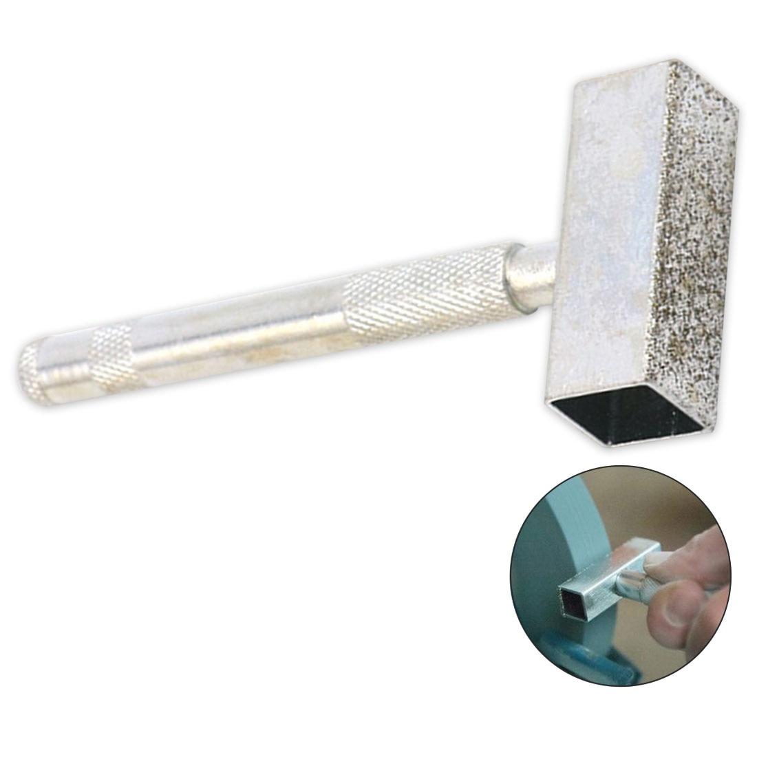Hand Held Electroplated Diamond Dresser Diamond Grinding Disc Wheel Stone Dresser Tool Dressing Bench Grinder Grinding Tool