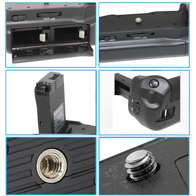 Double batterie professionnelle Support de prise en main Pack Support prise de vue verticale pour CANON EOS800D T7i X9i 77D JLRJ88