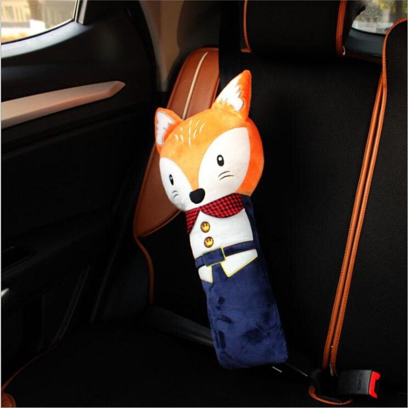 Creative cartoon car seat belt cover shoulder protection pad pillow cute children kids car safety car decoration Accessories