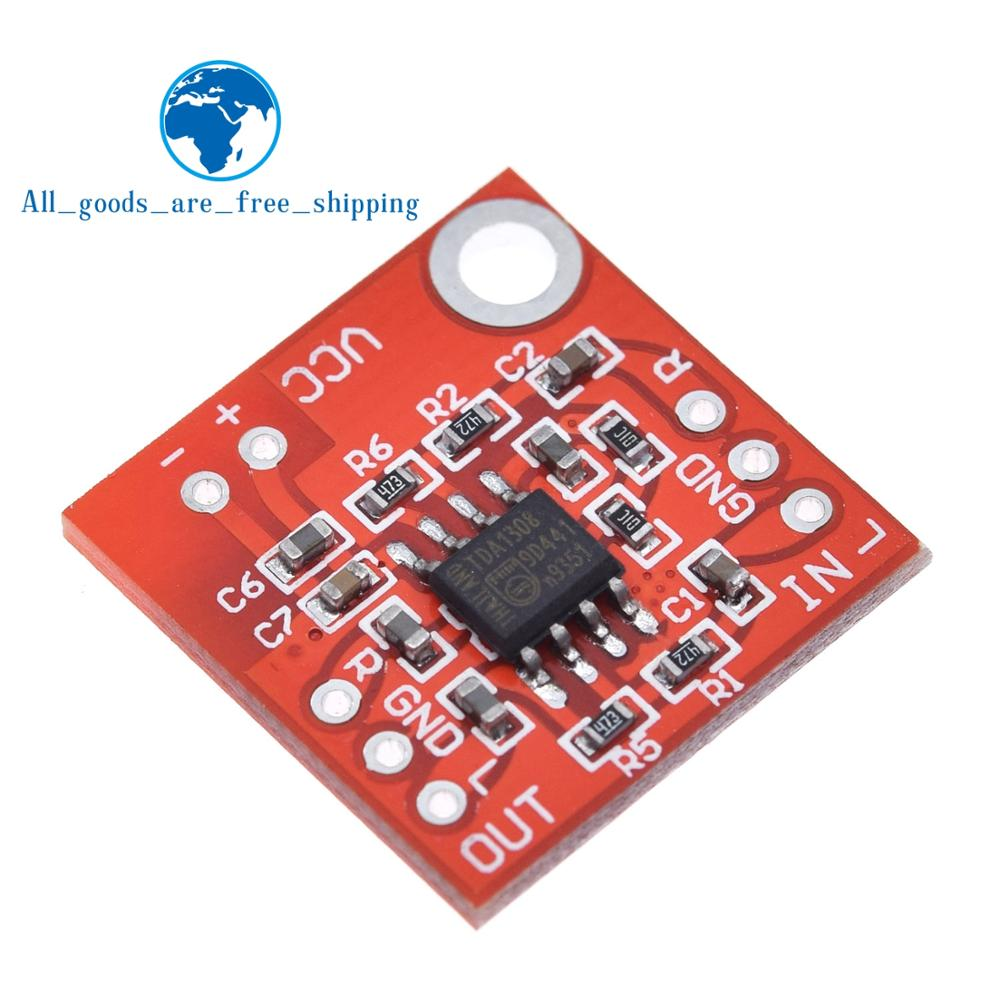 Stereo TDA1308 Headphone Amplifier Board Headset Amp Preamplifier Board Module 3V 6V For arduino diy Red|Integrated Circuits|   - AliExpress