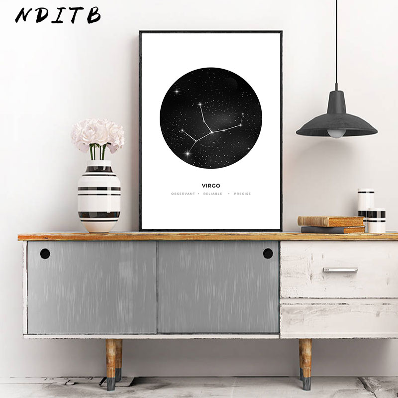 Constellation Nursery Wall Art Canvas Poster Prints Astrology Sign Minimalist Geometric Painting Nordic Kids Decoration Pictures Constellation Nursery Wall Art Canvas Poster Prints Astrology Sign Minimalist Geometric Painting Nordic Kids Decoration Pictures
