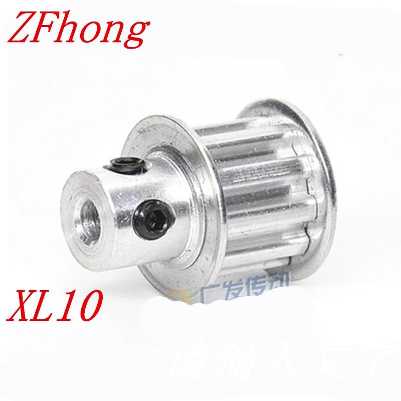 1 Stück Xl10 Timing Pulley Pitch 5,08mm Zähne 10 Breite 10mm Bohrung Größe 3,17/4/5 /6/6,35/8mm Weitere Rabatte üBerraschungen