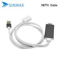 Hot HDTV cable HD Mirroring Cable Adapter sét để HDMI 1080 P Plug & Play Miracast DLNA Airplay làm việc với chrome youtube trò chơi
