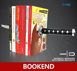 Libro creativo de Katana, imán decorativo para el hogar como soporte de libro, soporte de lectura de libro