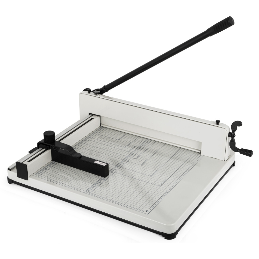 A3 Paper Cutter Guillotine Professional Heavy Duty Paper Trimmer 17 Inch Capacity 80g 400 Sheets For Commercial Photocopy Print