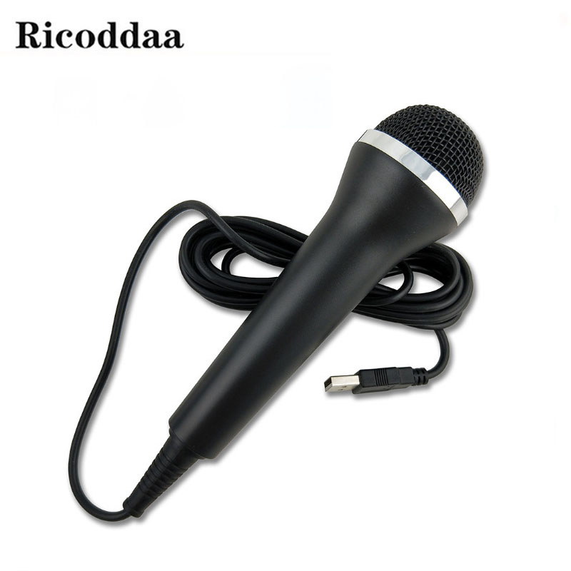 Universal USB Wired Microphone For PS3 PS4 For Xbox One/Xbox One Slim Gamepad For Xbox 360/Xbox 360 Slim For Wii/PC Microfone